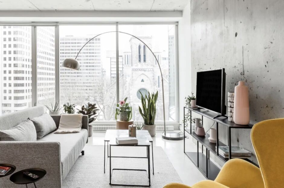 downtown art deco bachelorette party airbnbs in montreal
