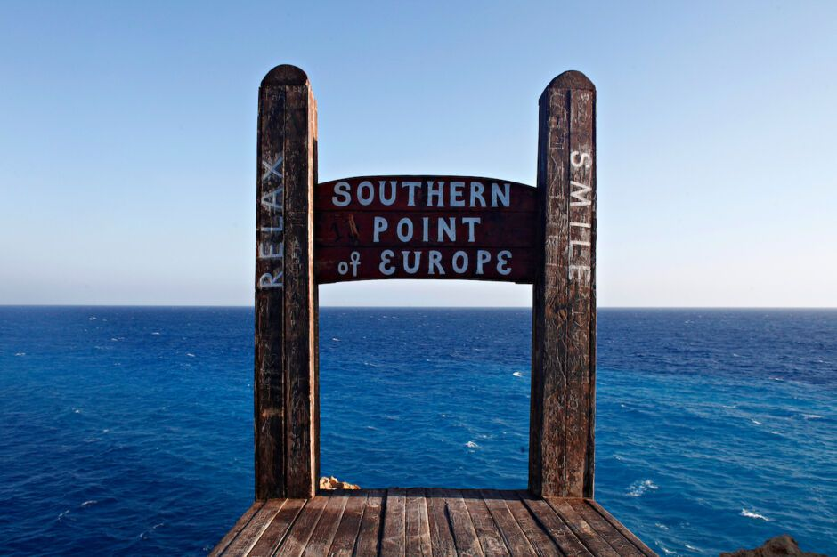 gavdos chair europe's southernmost point