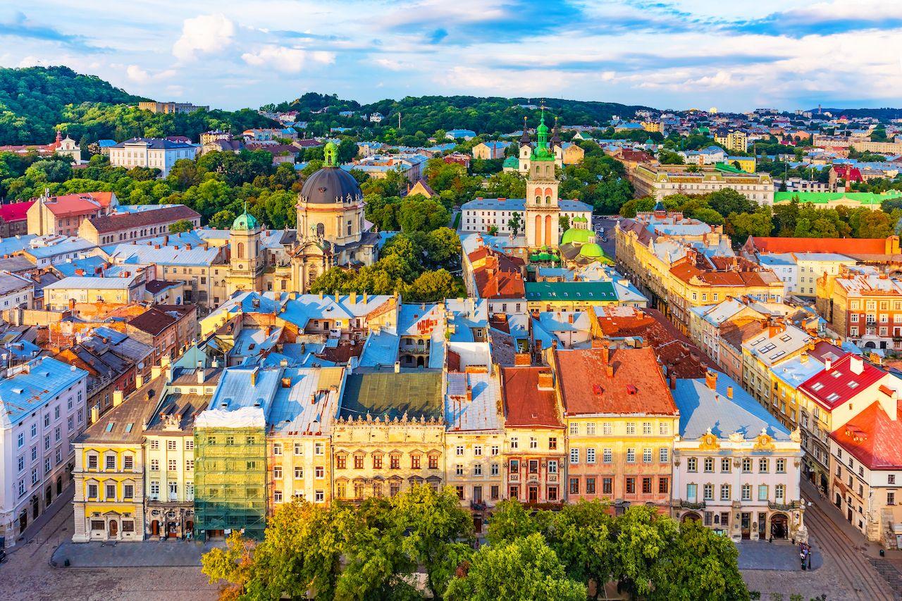 Gay friendly places Eastern Europe Lviv, Ukraine