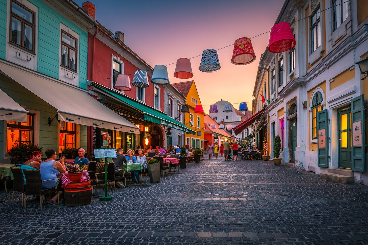 gay friendly places eastern europe Hungary Szentendre