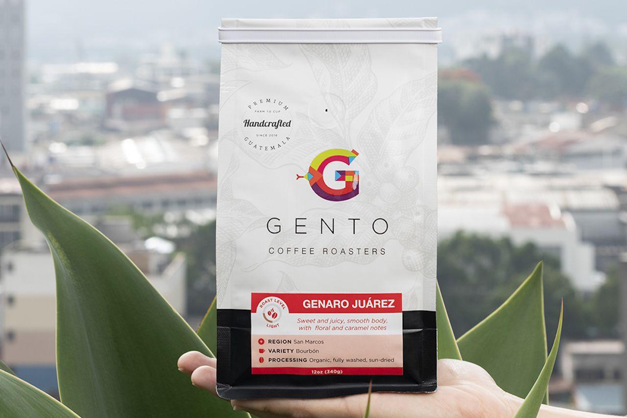 bag of gento coffee