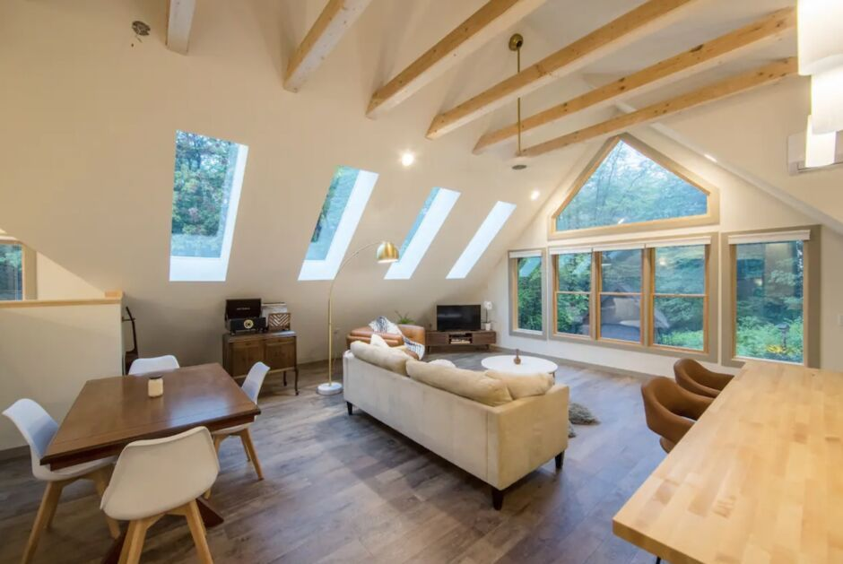 hygge loft vermont remote new england airbnbs