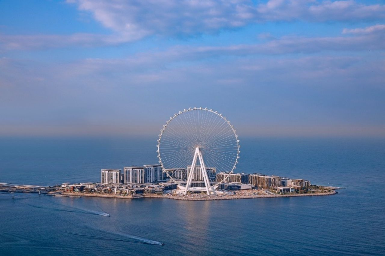 World's largest and tallest observation wheel in Dubai