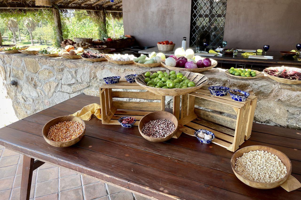 Produce from tamarindo los cabos