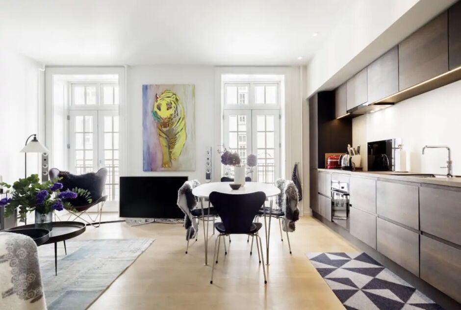 luxurious elegant apartment hygge copenhagen airbnbs