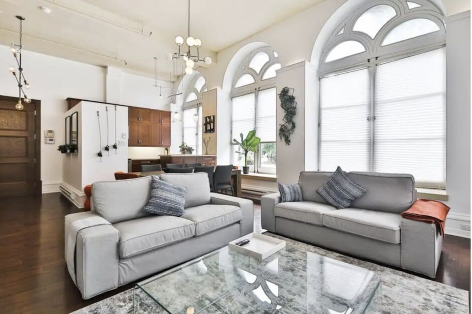 old montreal townhouse bachelorette party airbnbs in montreal