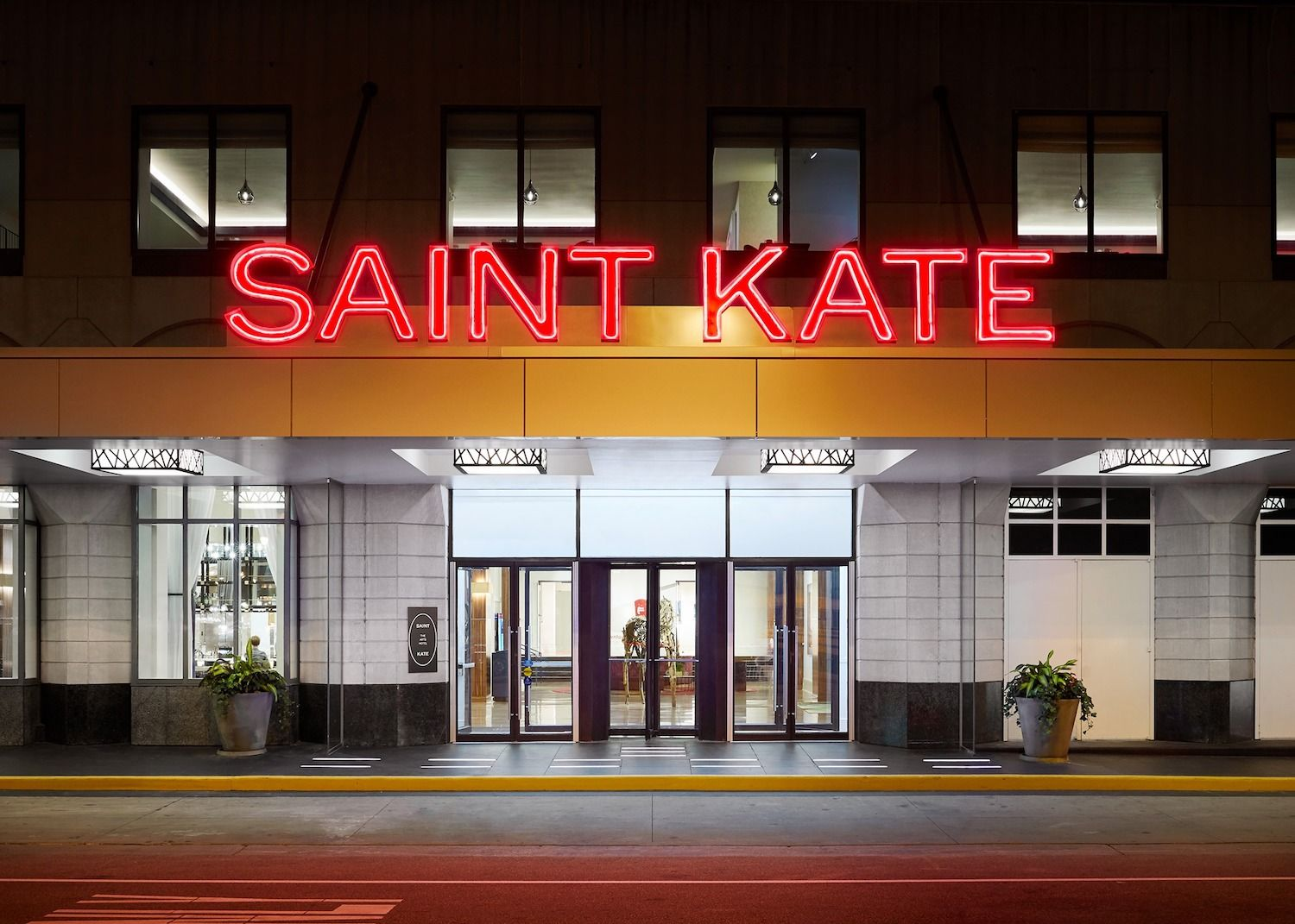 Exterior of the Sainte Kate Hotel in Milwaukee