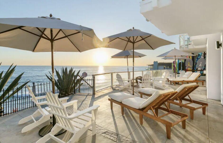 sand castle california yoga retreat airbnbs