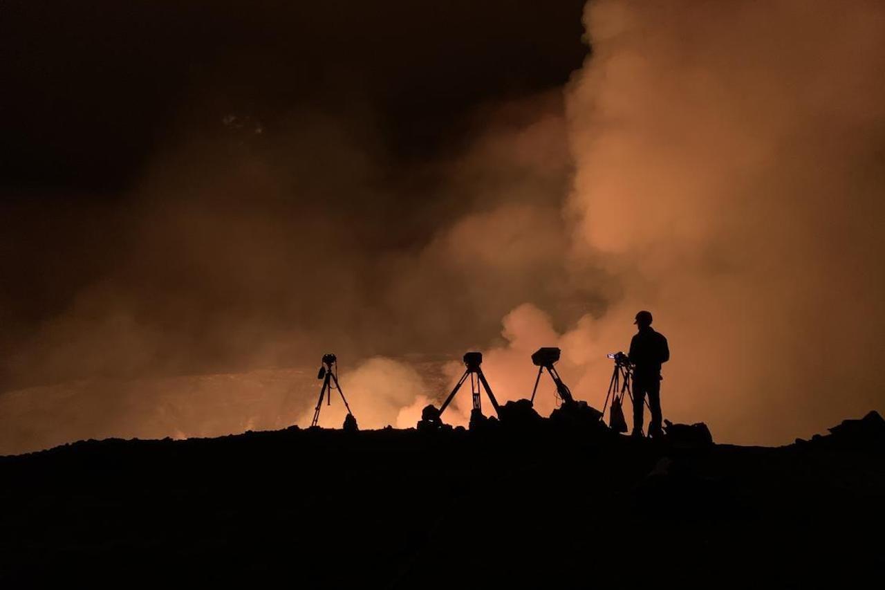 monitoring hawaii volcano explosion