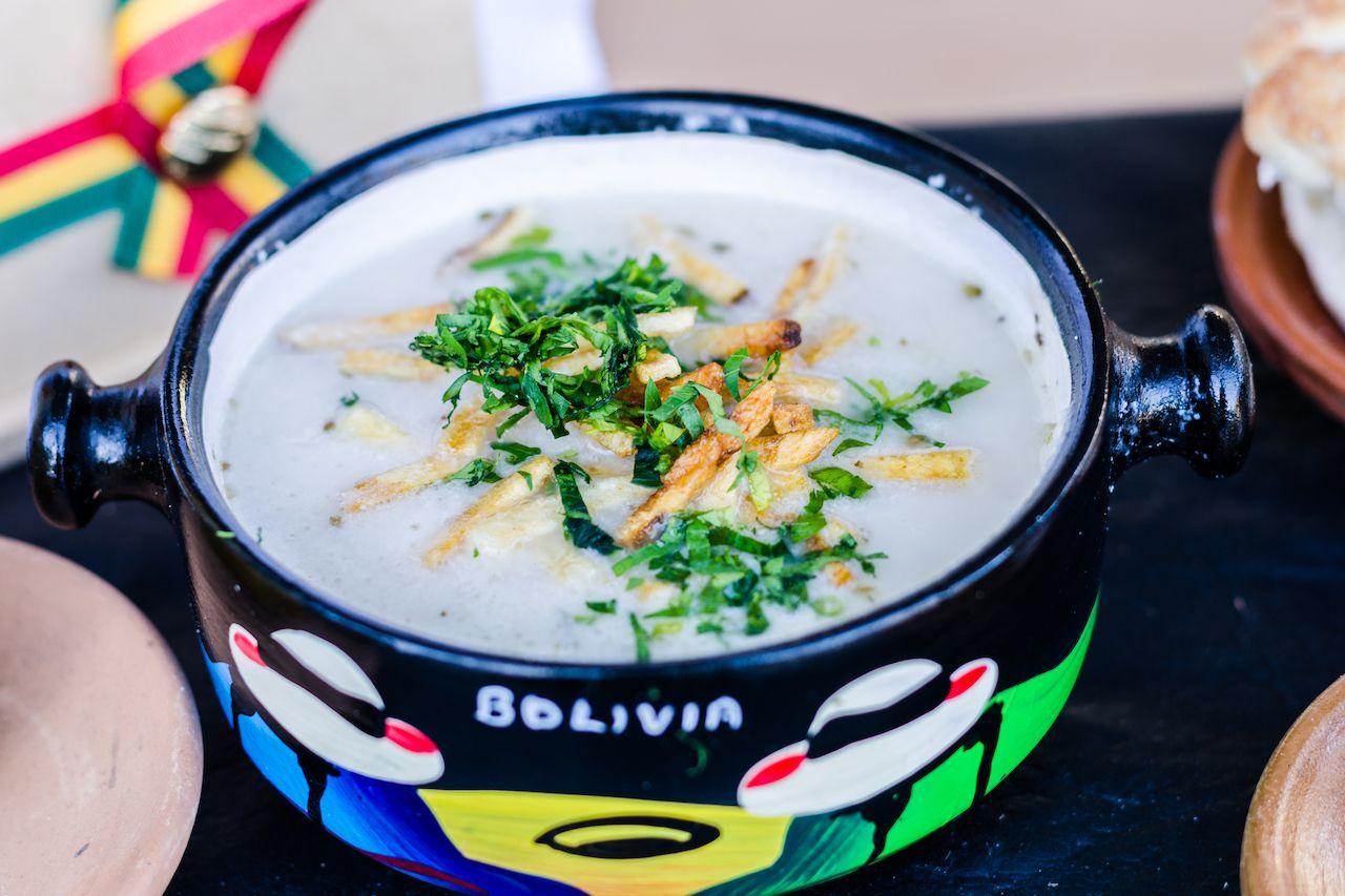 bolivian sopa de mani