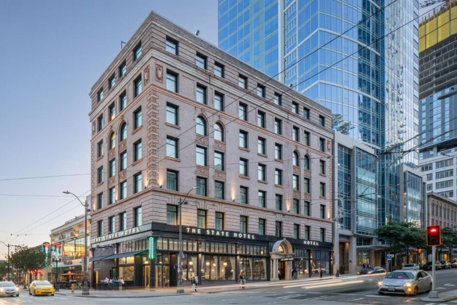 state hotel hotels near pike place market