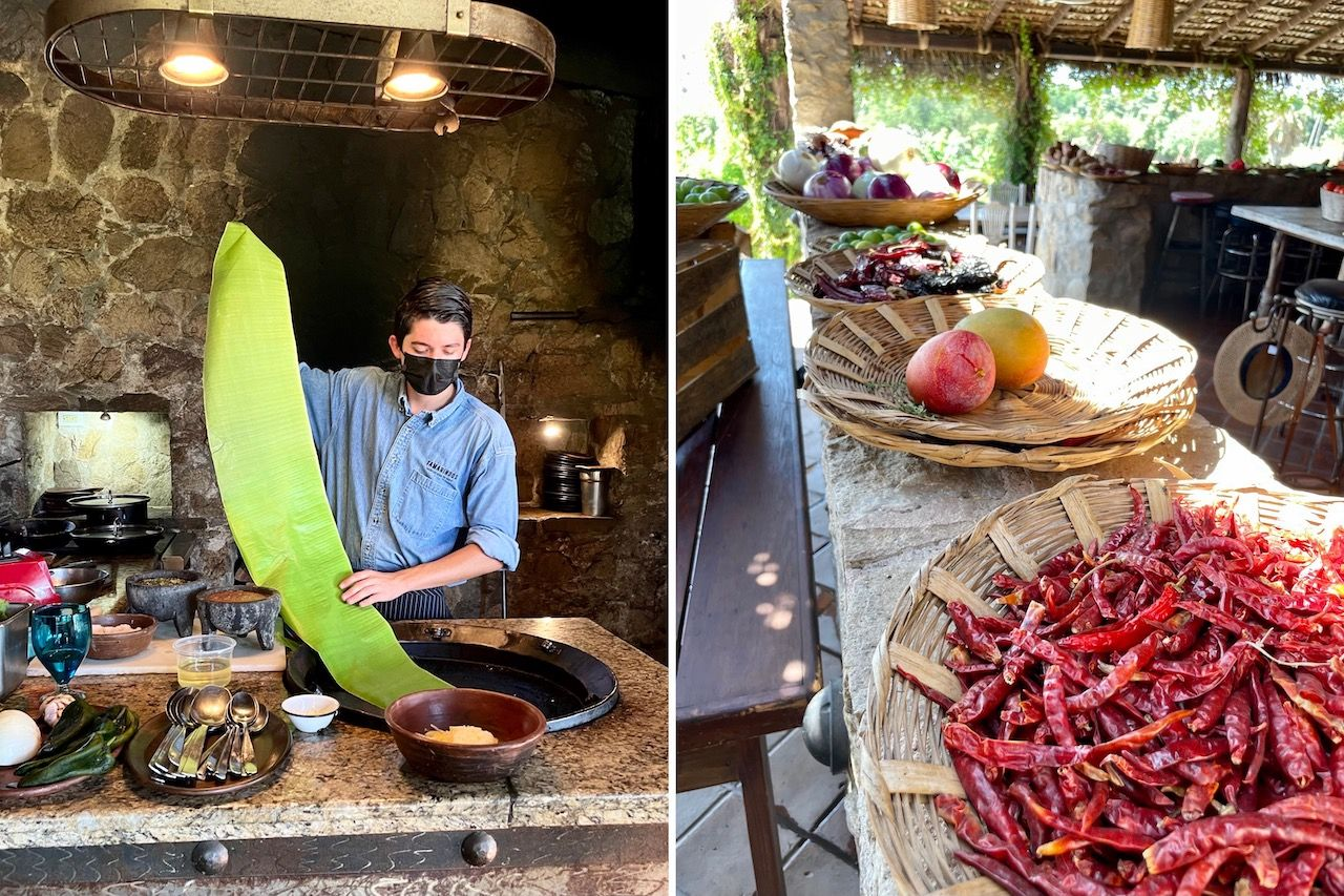 tamarindo peppers and cooking