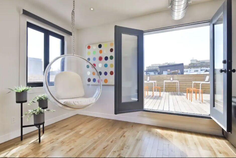 waterfront penthouse bachelorette party airbnbs in montreal