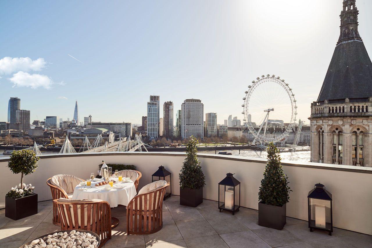 corinthia hotel london terrace