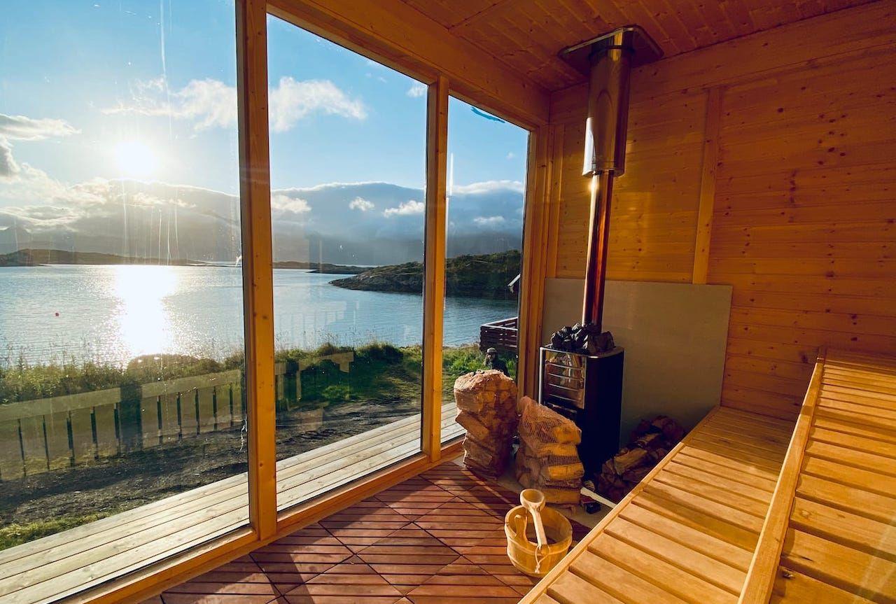 House Sauna Lofoten Airbnbs