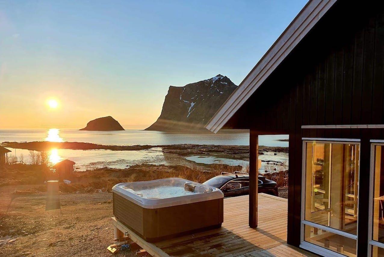 Lofoton Airbnbs Explorers cabin