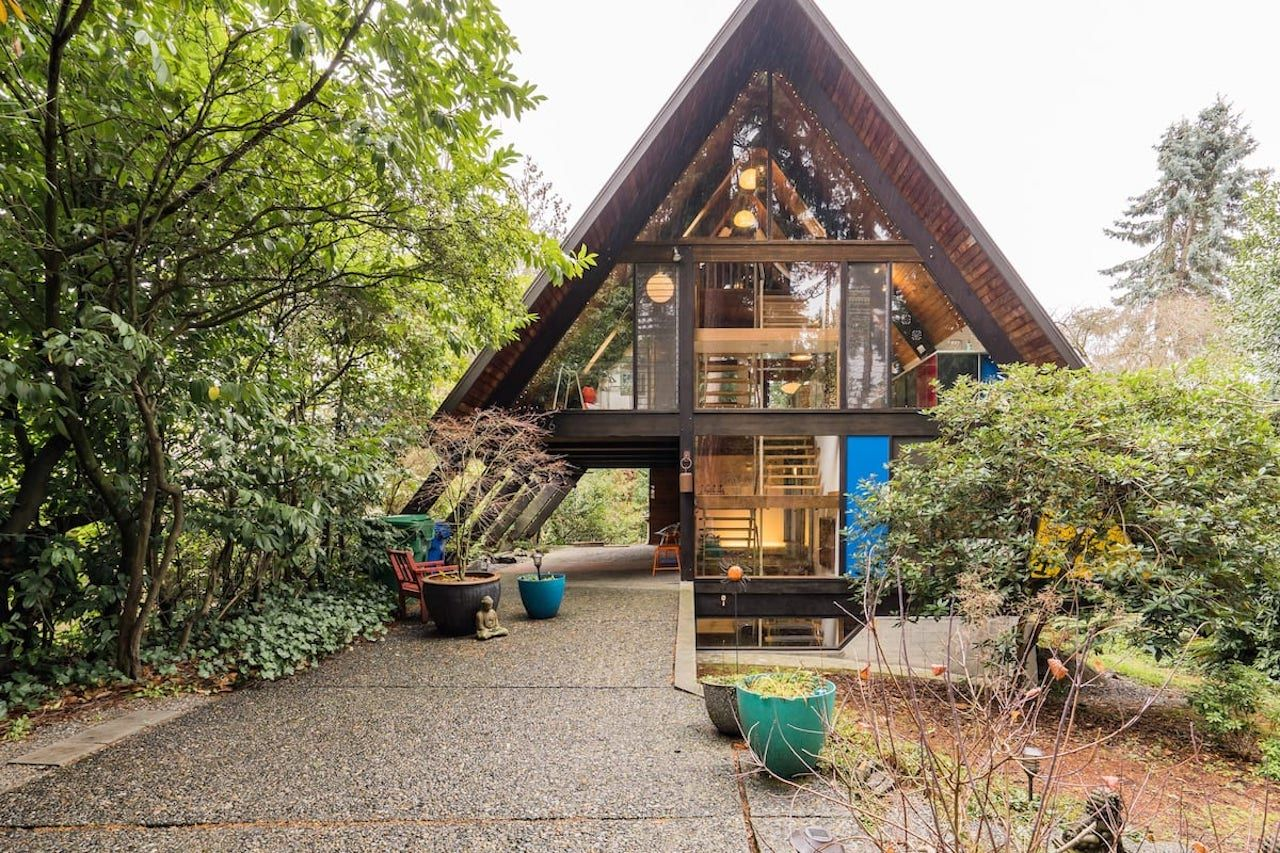 Pacific Northwest Airbnb Architectural A-frame Seattle