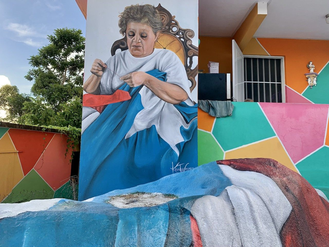 street art mural in Puerto Rico