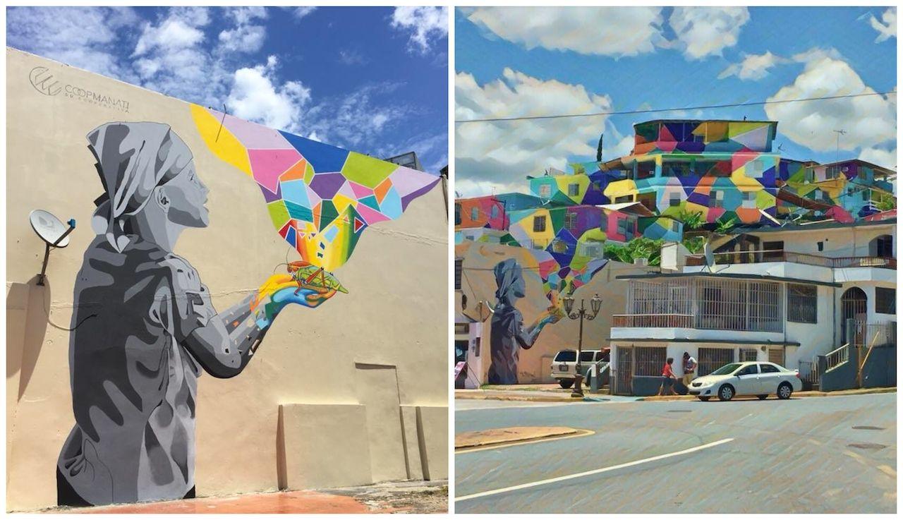 Street art in Puerto Rico as a revitalization project