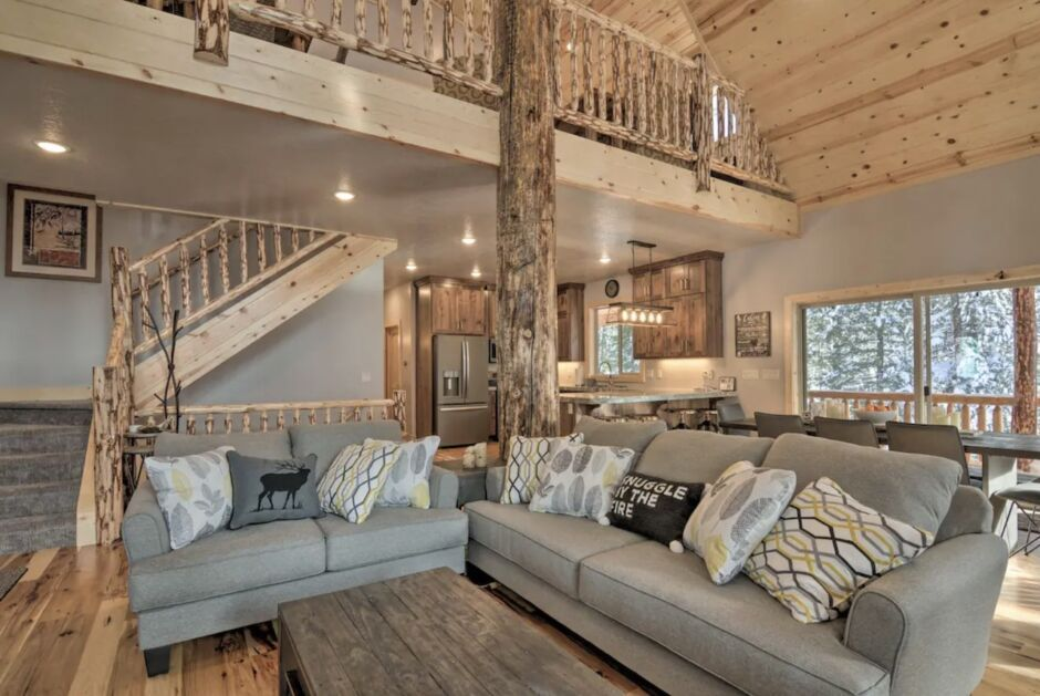 duck creek village cabin holiday airbnbs southwest