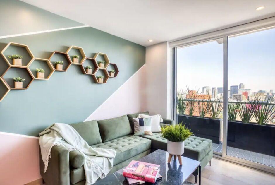 modern apartment views polanco airbnbs