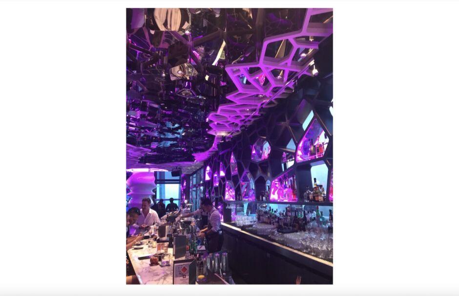 ozone bar cocktail ritz carlton hong kong