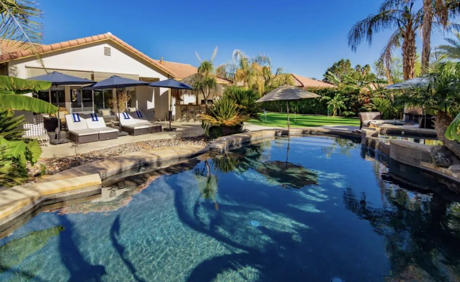 palm springs home pool holiday airbnbs southwest