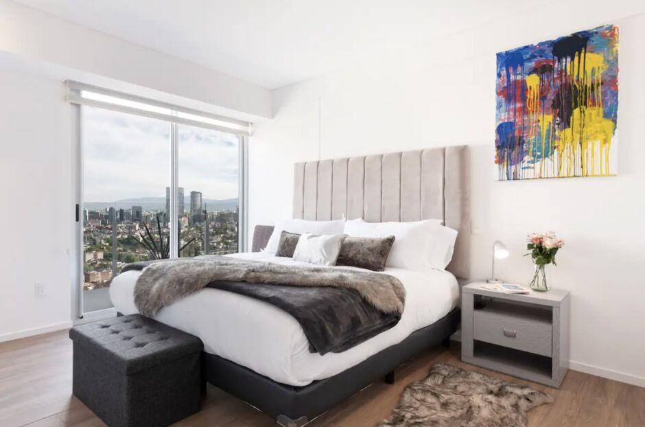 penthouse terrace polanco airbnbs