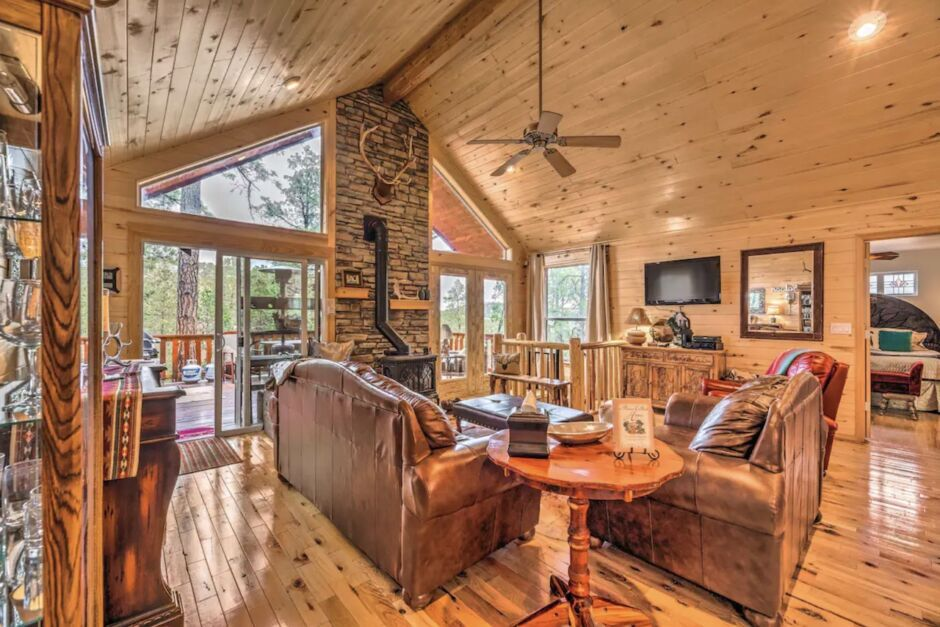 ruidoso mountain cabin holiday airbnbs southwest