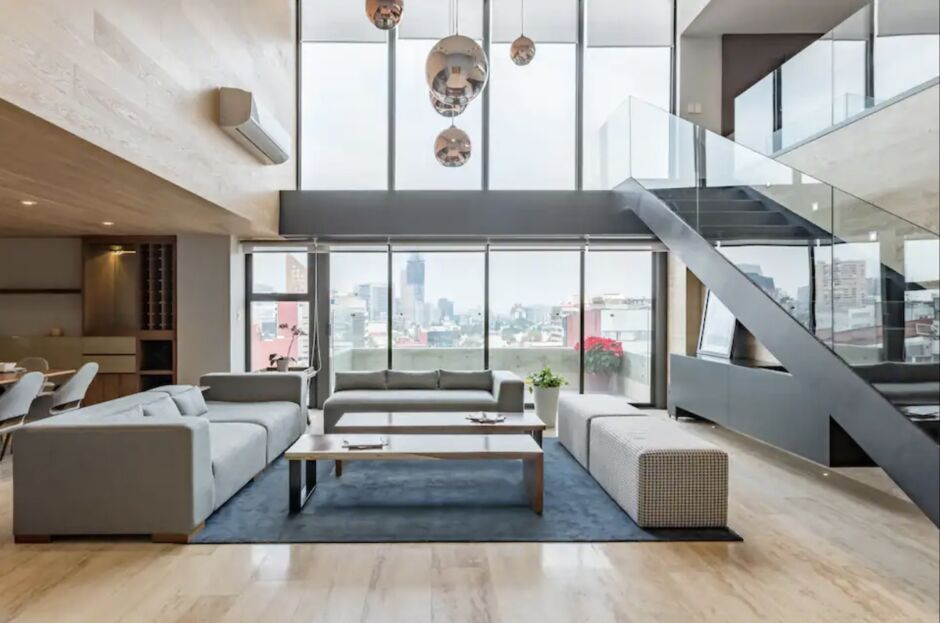 sophisticated penthouse polanco airbnbs