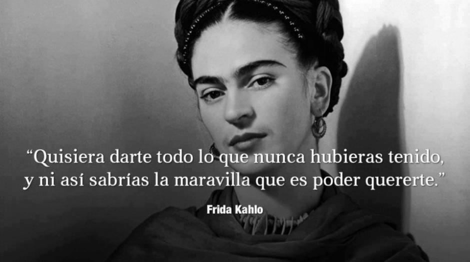 En citas espanol kahlo frida ¡Viva la