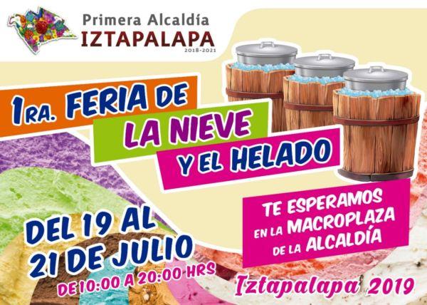 Festival de la nieve y el helado de Iztapalapa